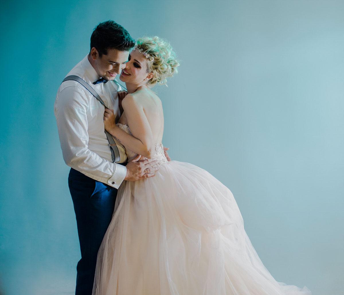 miguel Barranco fotografo de bodas en Málaga, fotografia de estudio para bodas